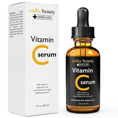 Radha Vitamin C Face Serum - best vitamin c serum