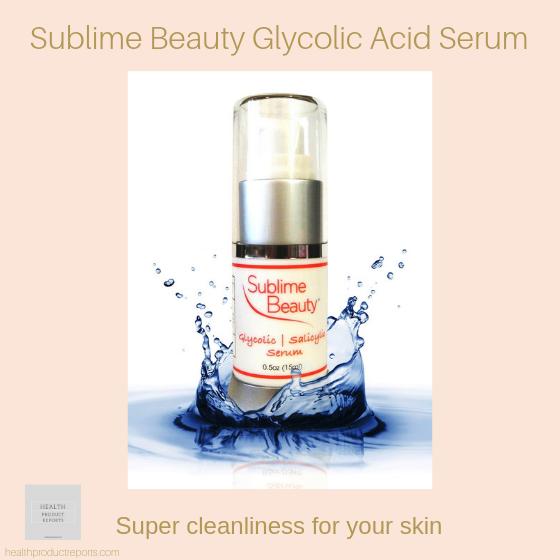 Sublime Beauty Glycolic Acid Serum