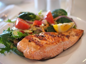 salmon is jam packed with antioxidants