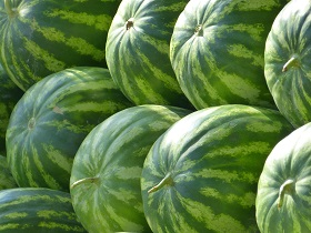 water melons are high in antioxidants - anti-aging foods