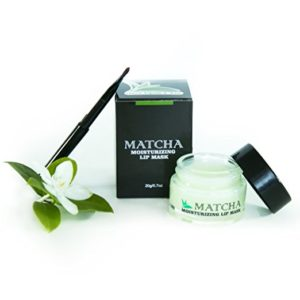 Green Tea Matcha Sleeping Lip Balm by Once Upon a Tea - perfect lip care for autumn