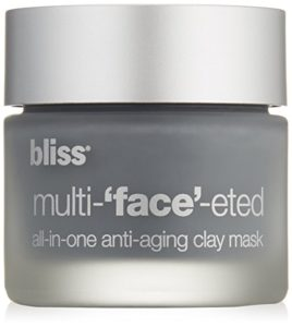 bliss Multi-'Face'-eted All-In-One Anti-Aging Clay Mask - cool beauty products