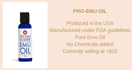 emu oil for fabulous skin