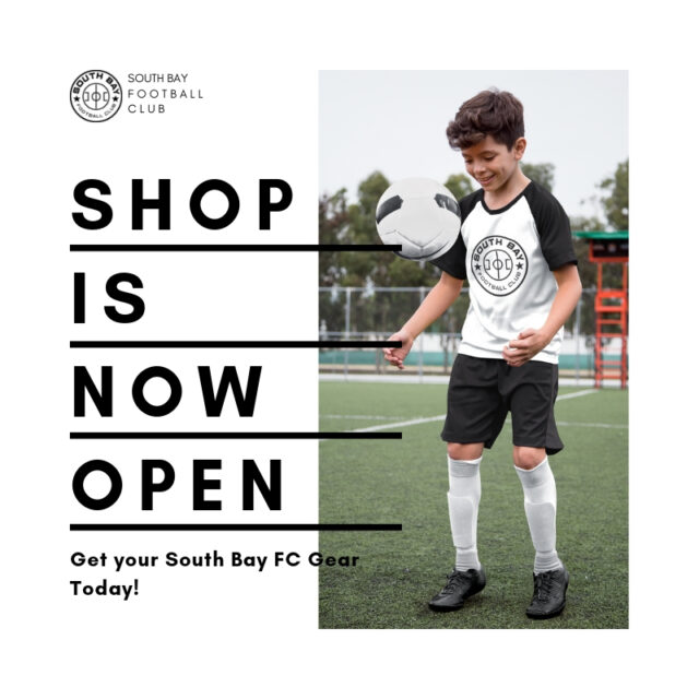 South Bay FC Shop is Now Open!