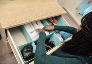 Bedroom Drawer Organizer