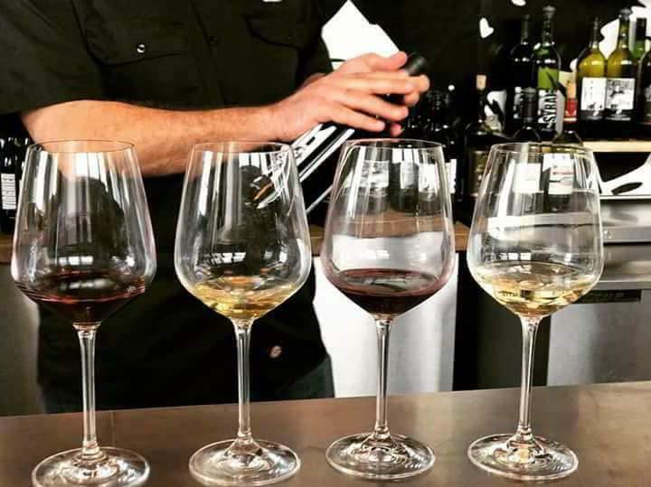 Dallas Wine Crawl Tasting Flight
