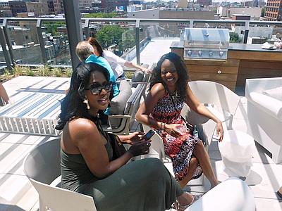 rooftop ladies Chicago
