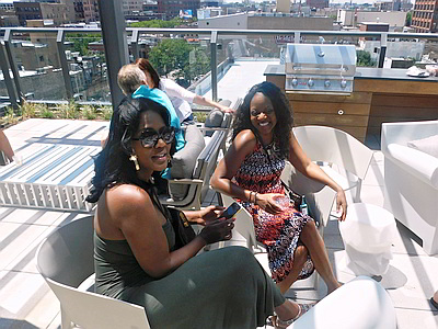 rooftop ladies Chicago