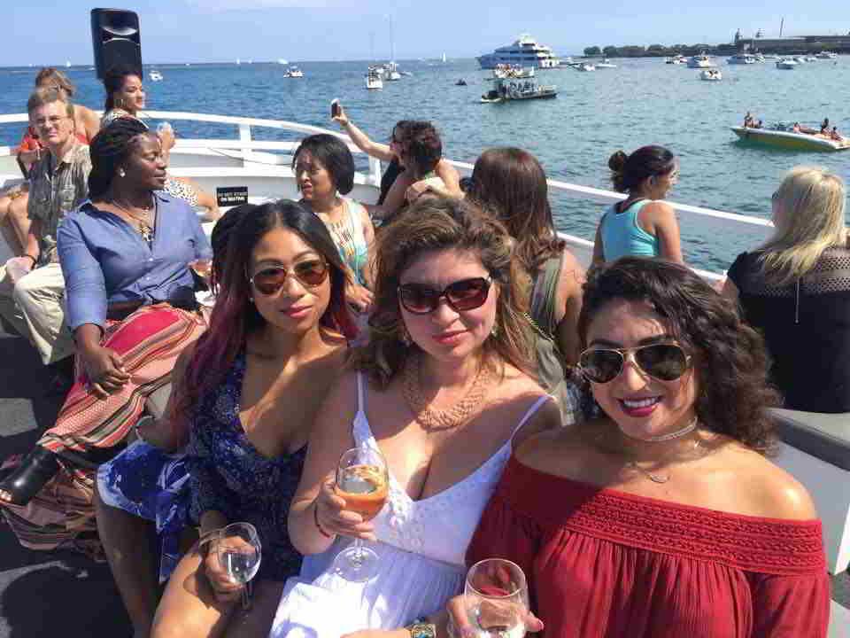 Lake Michigan Yacht party 2016