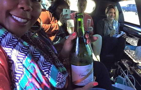 Limo In Napa
