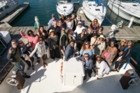 Group shot Chicago Yacht Party