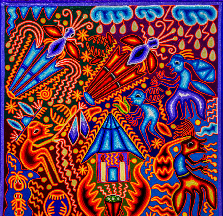 Huichol Art Mexico