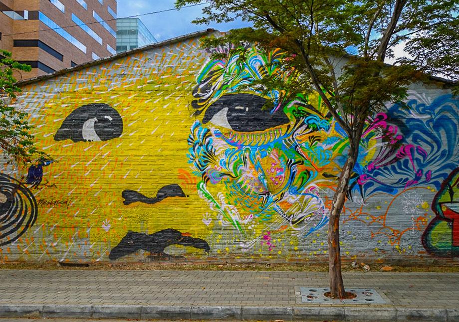 Street Art Medellin