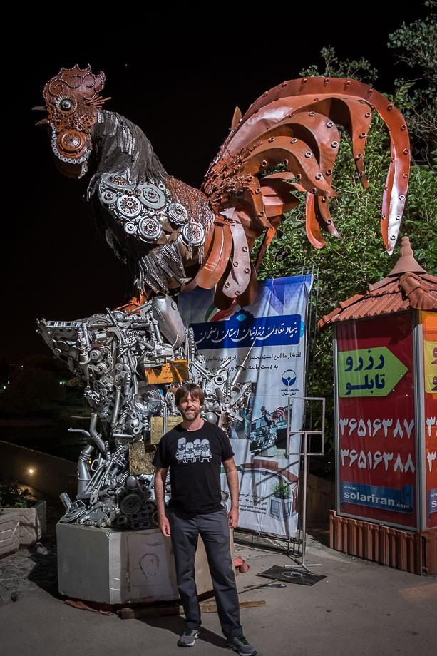 Isfahan street art