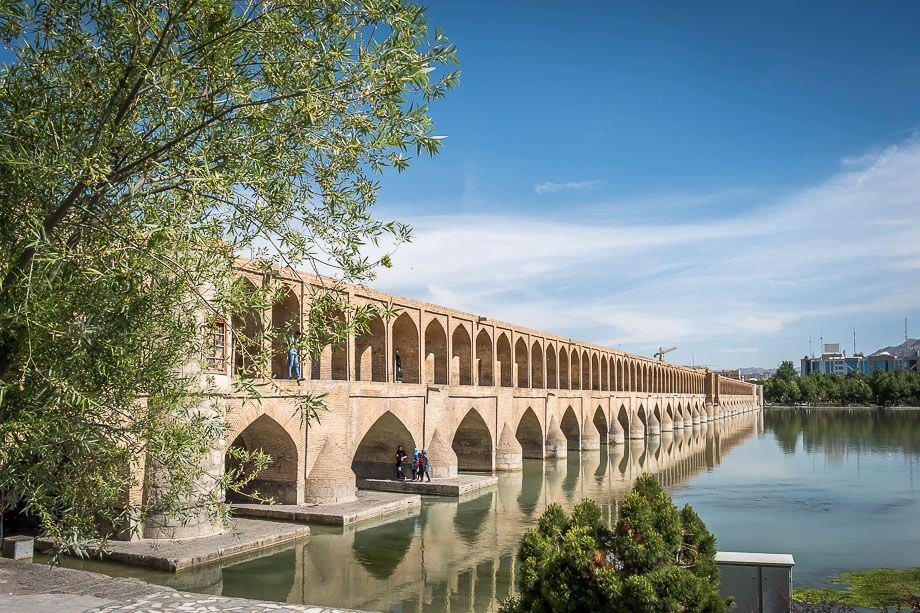 Isfahan siose pol bridge