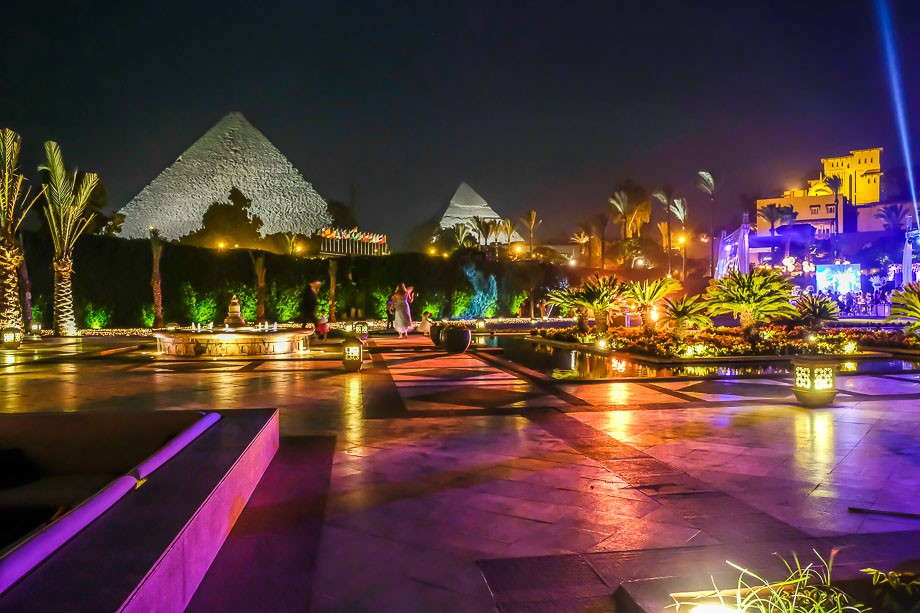 Cairo pyramids of giza mina house wedding