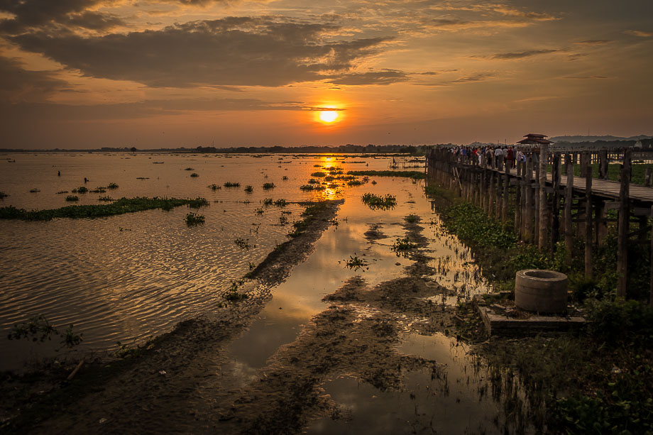 mandalay u-bein bridge