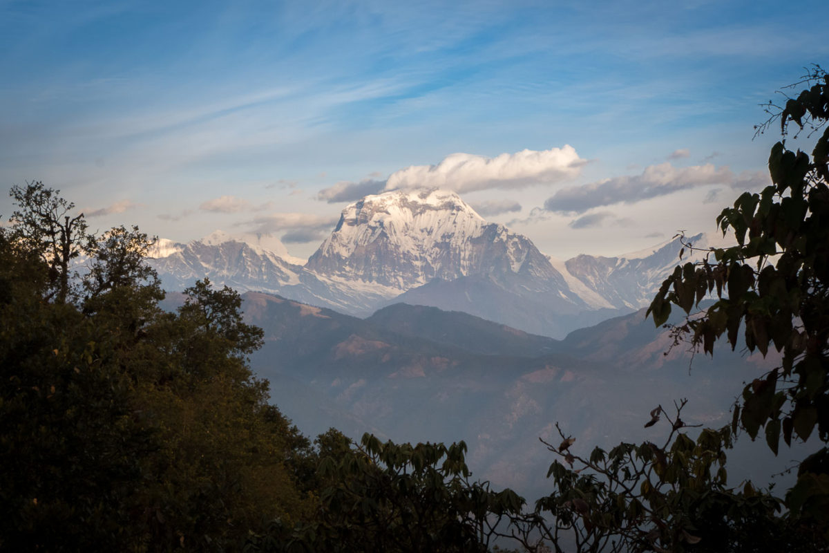 Panchase Trek Annapurna range Nepal