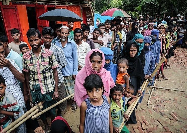 Myanmar Rohingya refugees