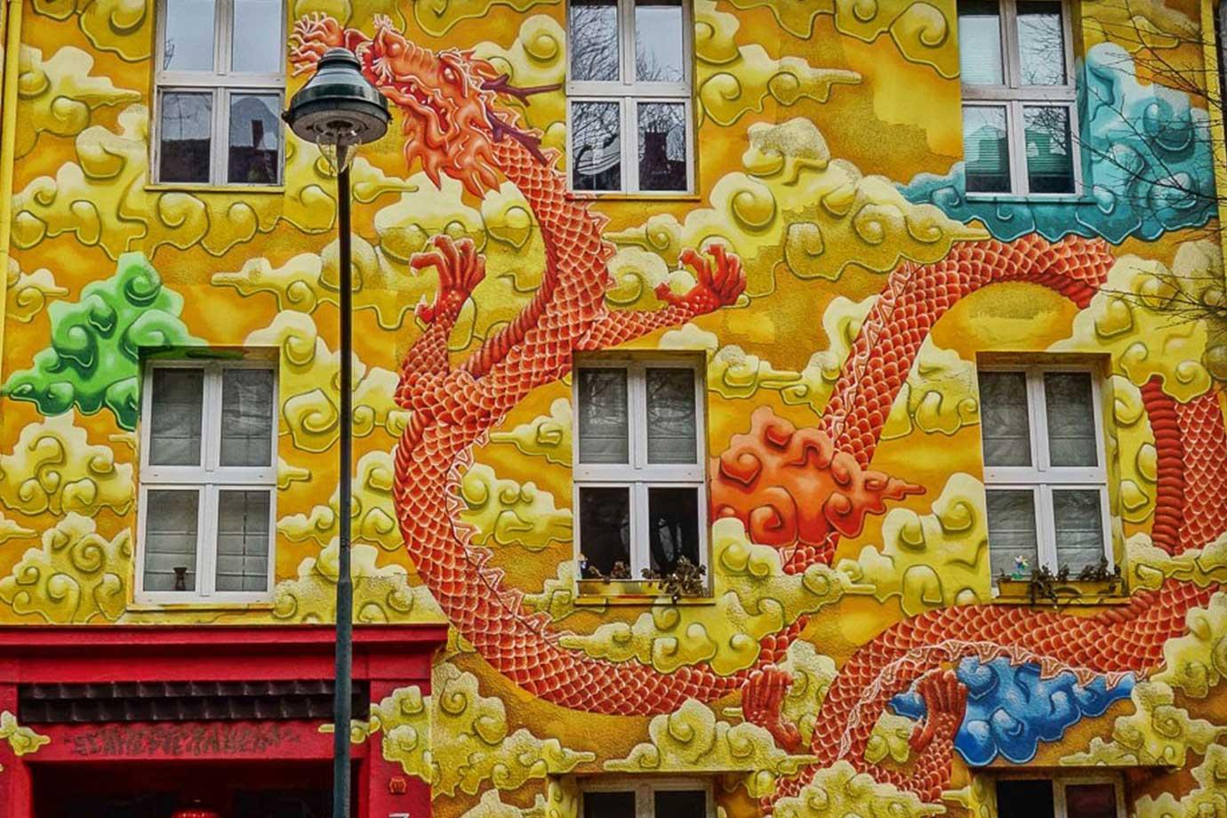 Düsseldorf street art Kiefernstrasse