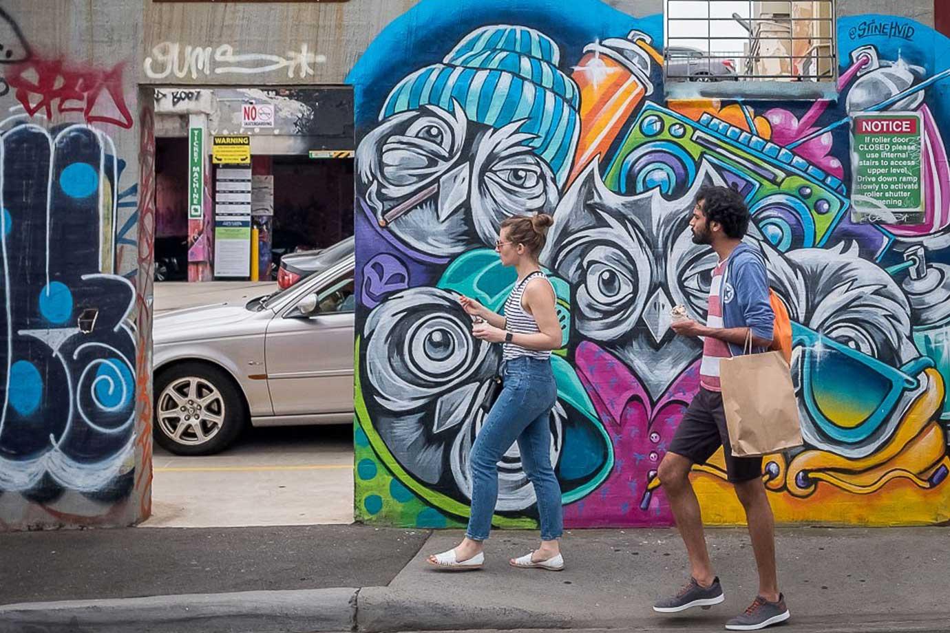 Melbourne street art brunswick