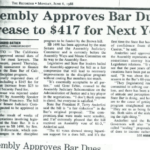 assembly approves bar