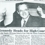 kennedy heads for high