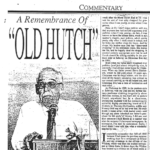 old hutch remembrance