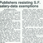publishers resisting sf salary