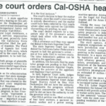 state court orders Cal