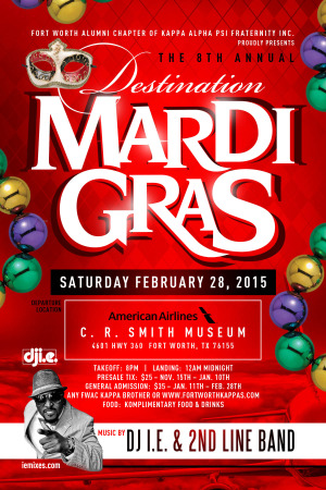 """Destination Mardi Gras"" Feb 28, 2015"