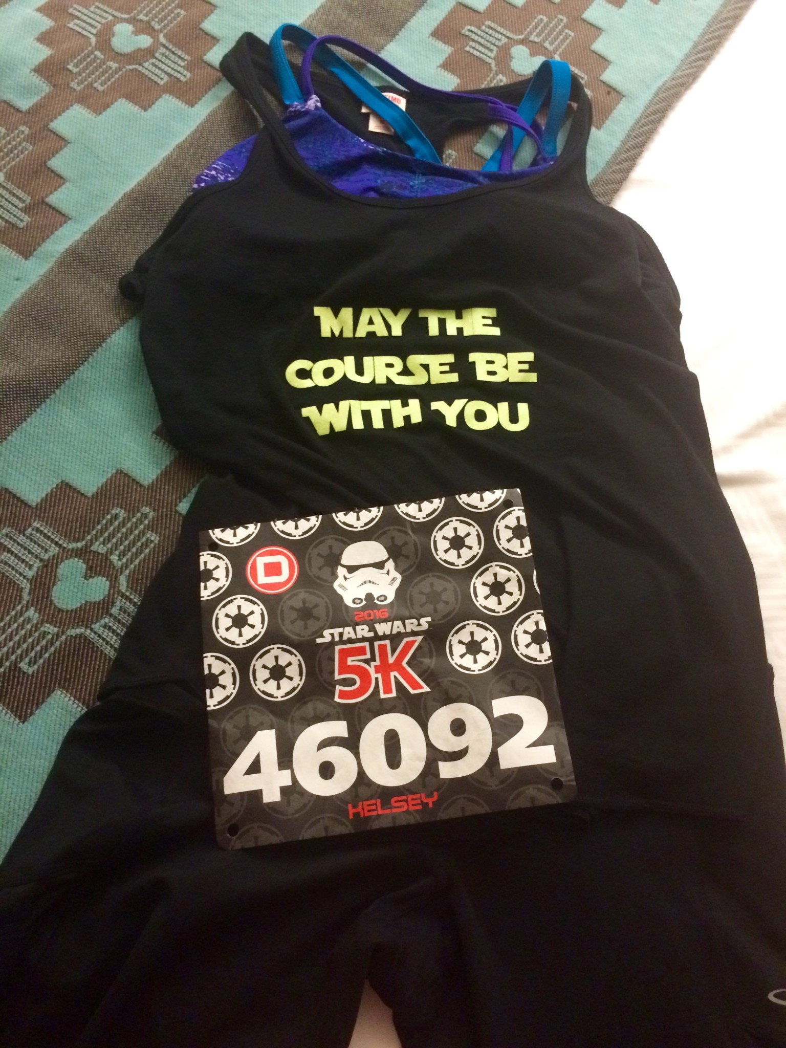 Star Wars Race Outfit