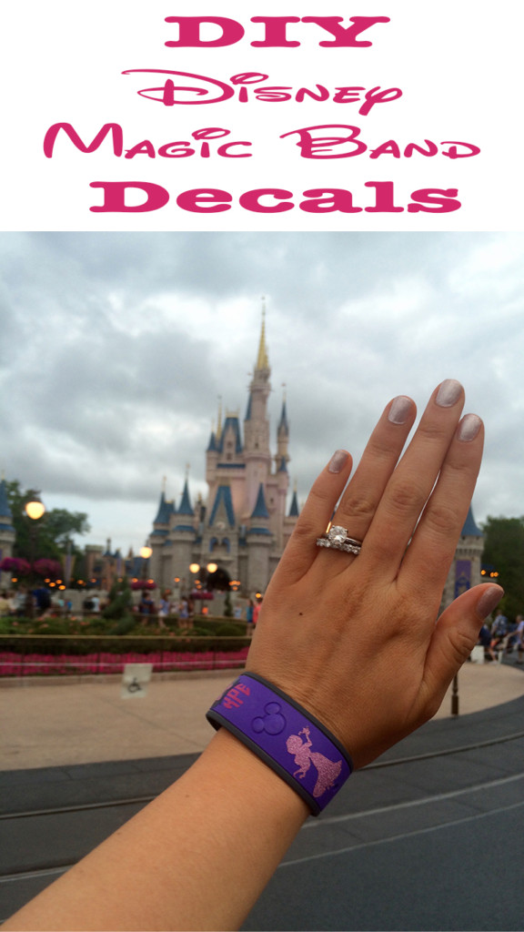 Make Your Own Vinyl Decals for Disney Magic Bands Decals with Cricut