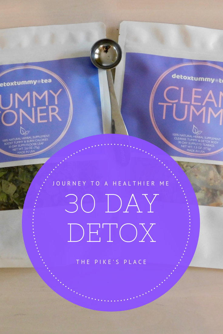 30 Day Detox Journey to A Healthier Me