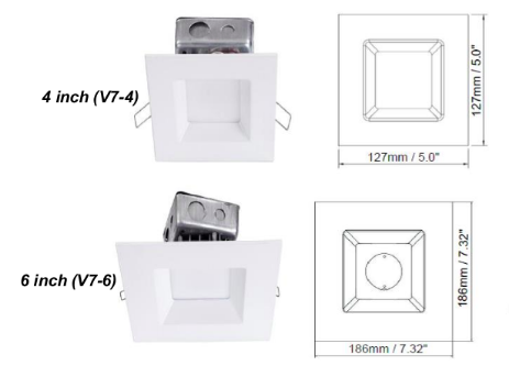V7 Series Downlight