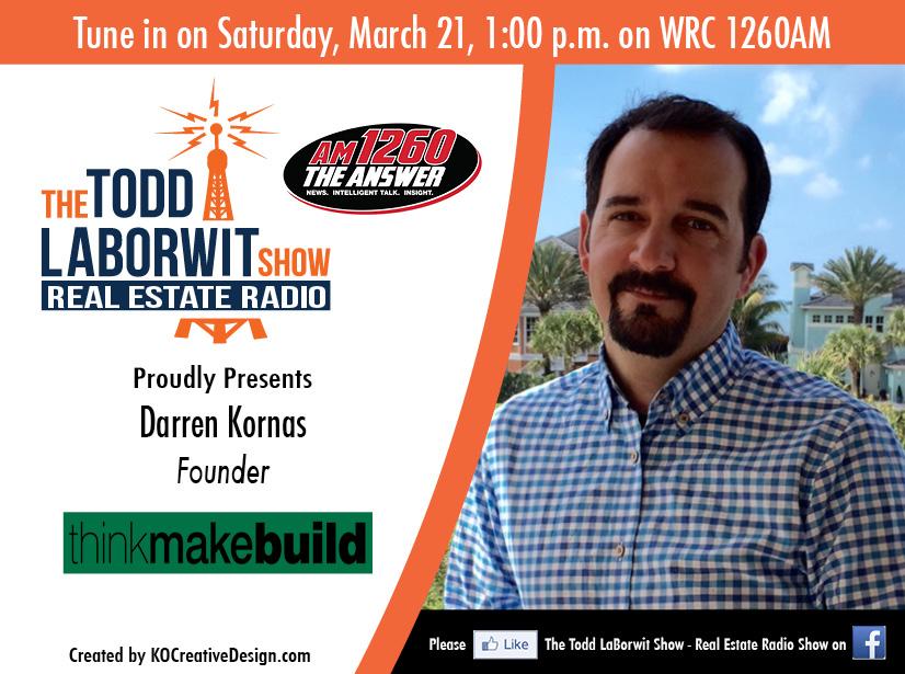 Darren Kornas, Founder of Think Make Build