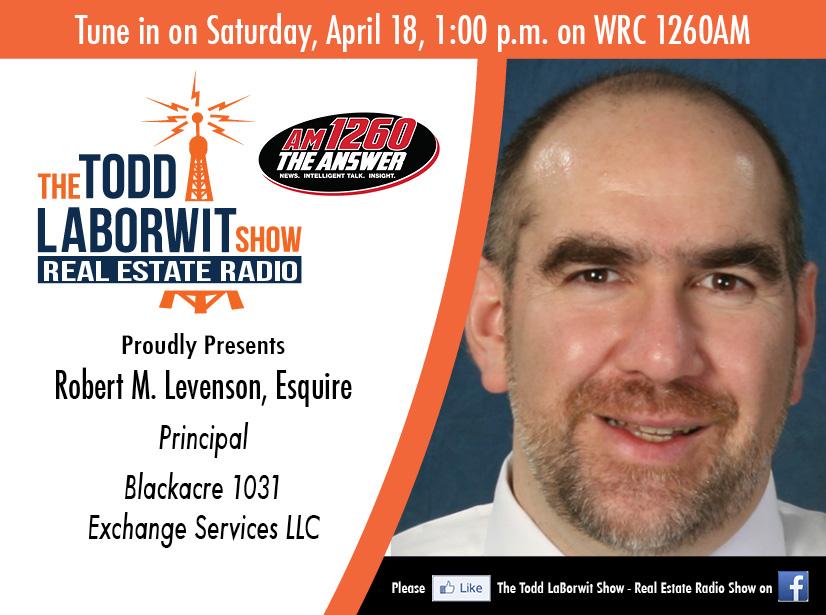 Robert M. Levenson, Esquire with Blackacre 1031 Exchange Services LLC