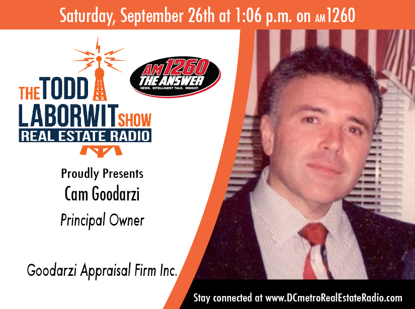 Cam Goodarzi, Principal Owner of Goodarzi Appraisal Firm Inc Image