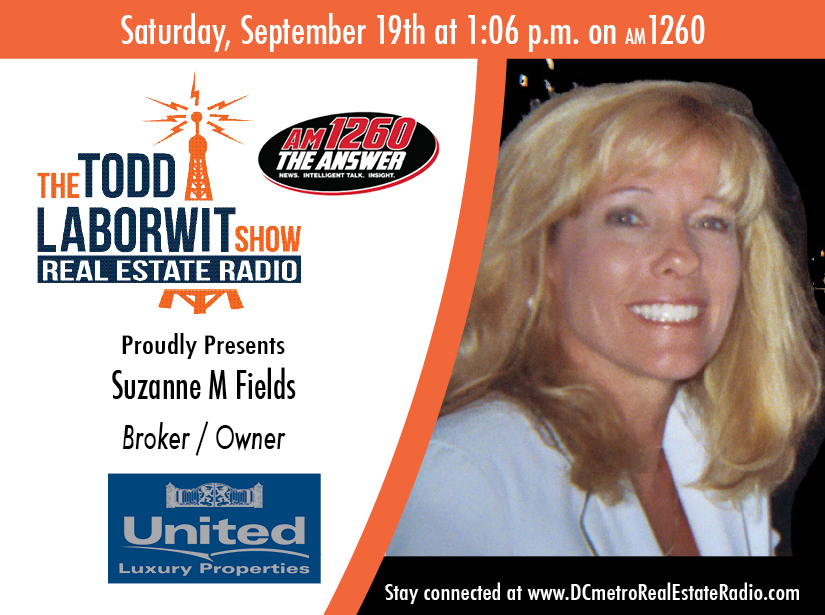 Suzanne Fields, Broker Owner of United Luxury Properties
