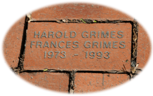 Memorial Brick - Clive Historical Society