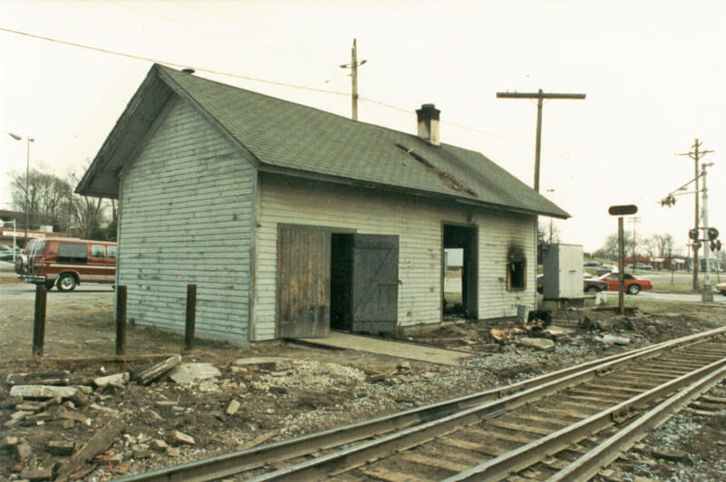 Depot-burned-west