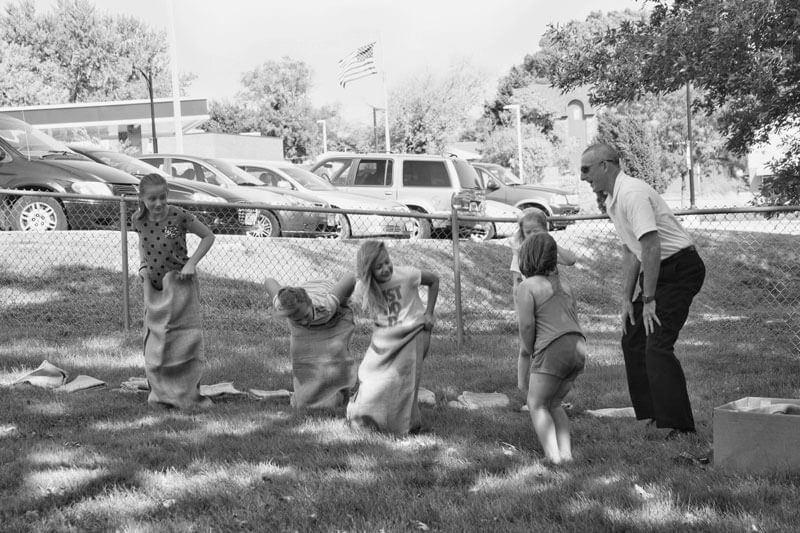 old-time-sack-race