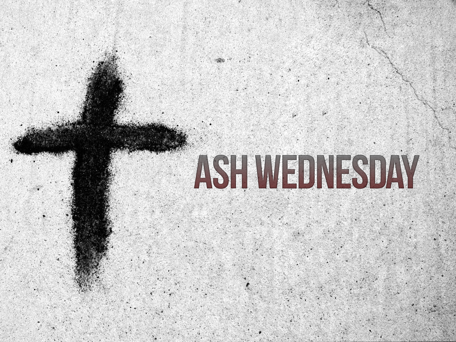 Ash Wednesday  Slides