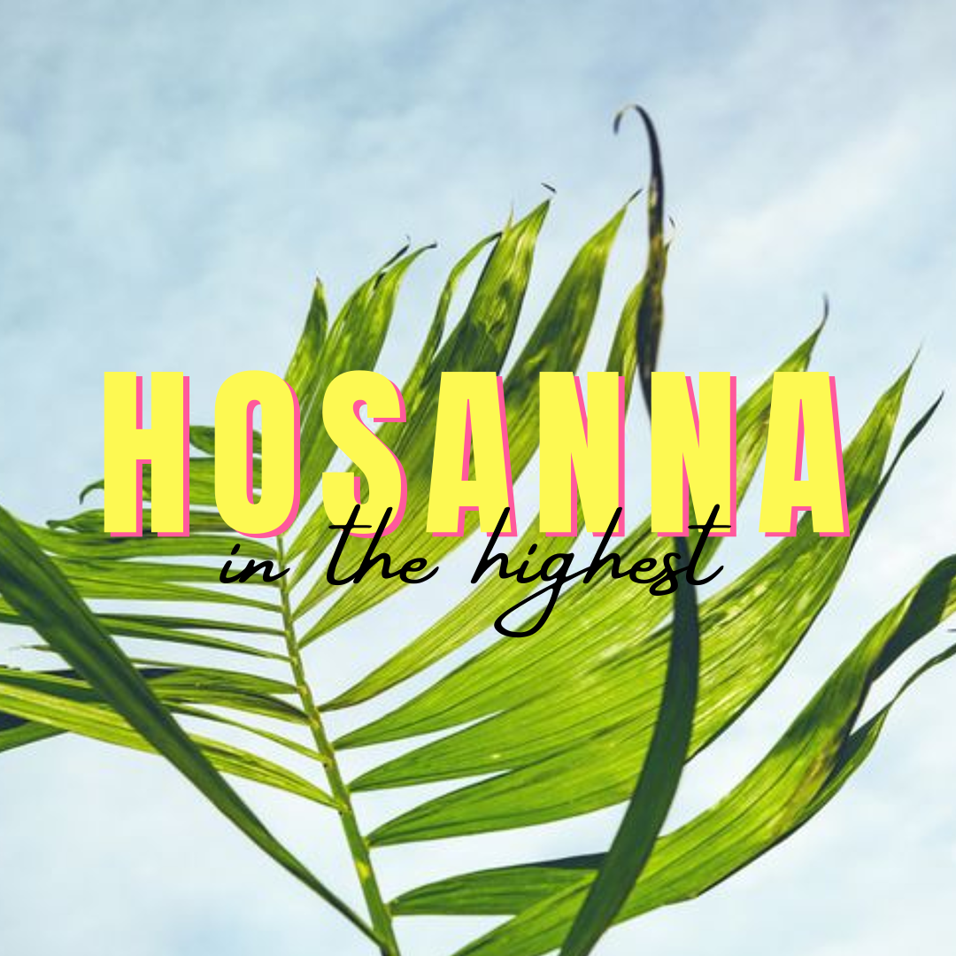 Weekly Invite – Palm Sunday – 25 March