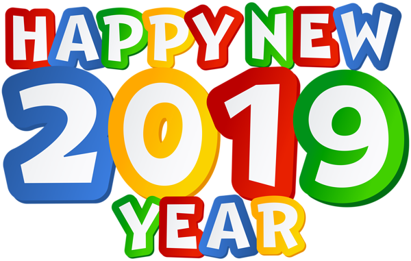 2019 Happy New Year PNG Clip Art Image