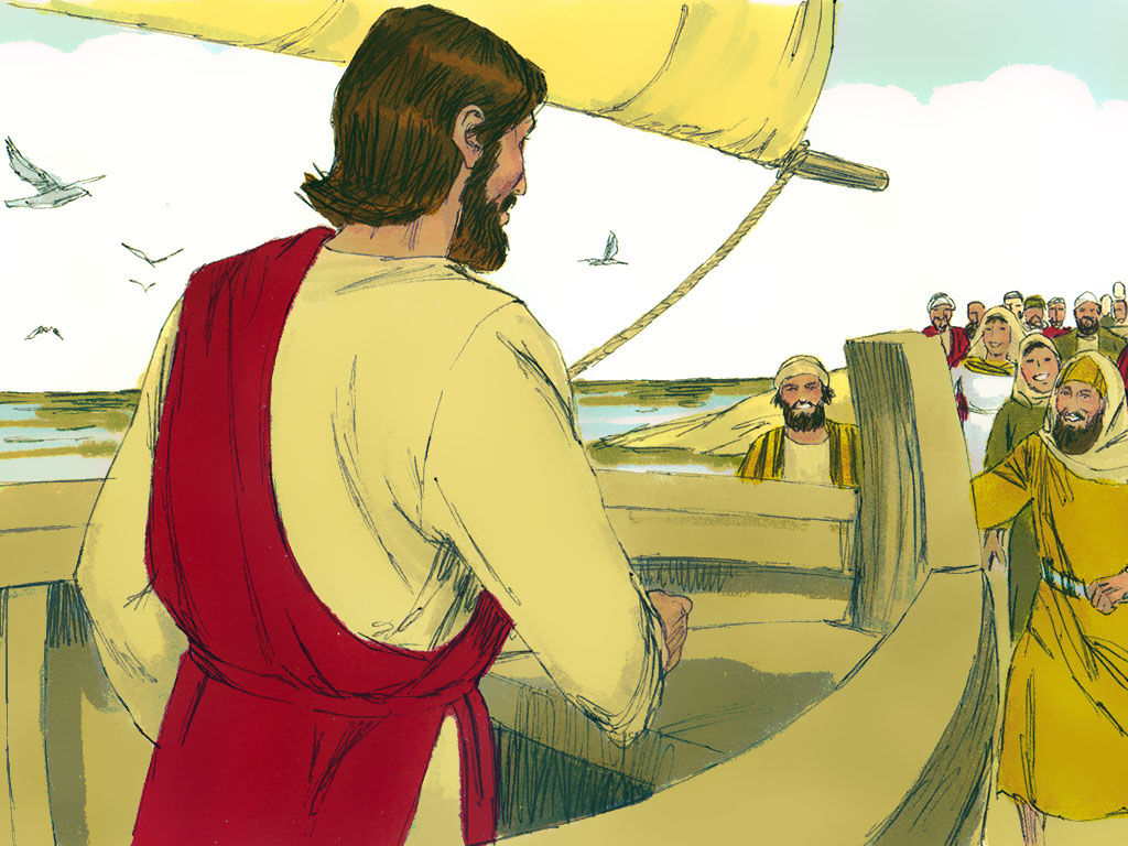Jesus Walks On Water By Sharla Guenther