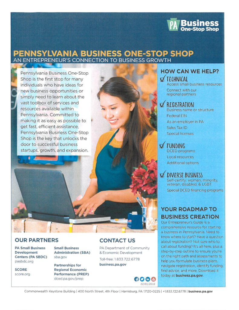 Pennsylvania Business One-Stop Shop