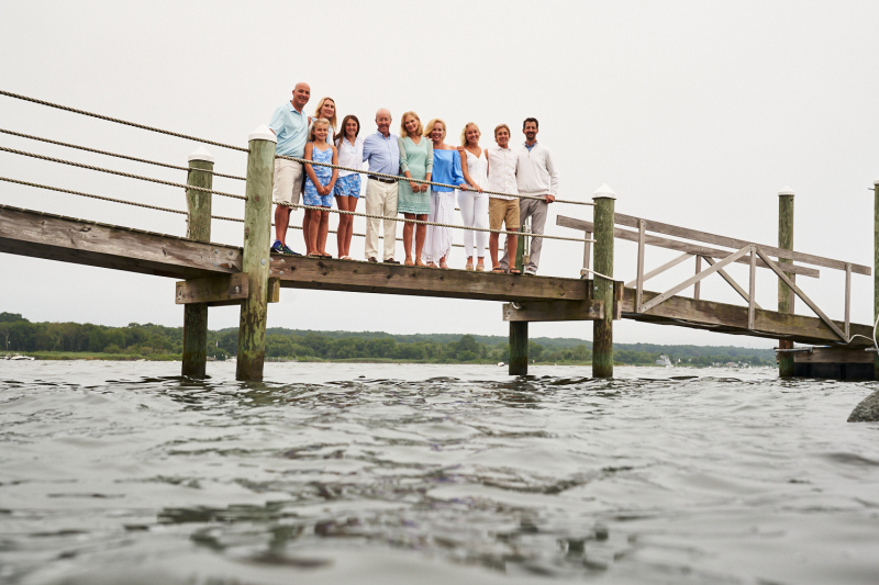 Fitzgerald Portrait Quonnie Family Rhode Island