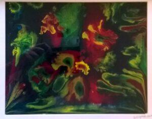 Reef Scape Resin Art Heidi Wyeth