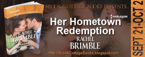 Banner - Her Hometown Redemption by Rachel Brimble
